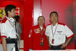 Jean Todt and Hiroshi Yasukawa