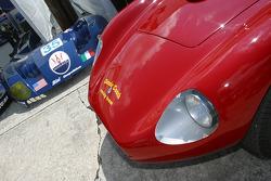 Maserati Corse paddock area: old and new