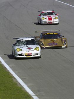 #24 Emory Motorsports/ BGB Porsche GT3 Cup: Rod Emory, Chris Ridgway, #77 Doran Racing Lexus Doran: Fabrizio Gollin, Matteo Bobbi