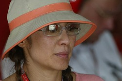 Jean Todt's girlfriend Michelle Yeoh
