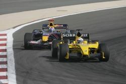 Narain Karthikeyan and David Coulthard