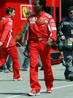 Balbir Singh, personal physio of Michael Schumacher