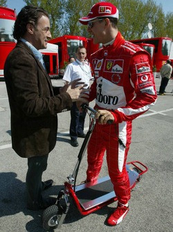 Jean Alesi and Michael Schumacher