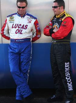 Mike Wallace and Johnny Sauter