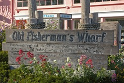 Entry to Old Fisherman's Wharf
