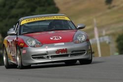 #28 Race Prep Motorsports Porsche 996: Tim Gaffney, Andy Lally