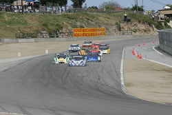 Back into turn 2 after the first yellow