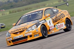 #5 Team Halfords Hoda Integra of Matt Neal