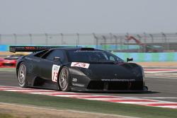 #13 Reiter Eng. Lamborghini Murcielago R: Norman Simon, Peter Kox