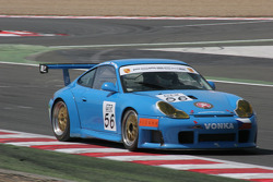 #56 Czech National Team Porsche 996 GT3 RSR: Mauro Casadei, Jan Vonka