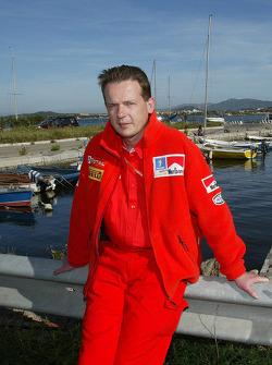Peugeot Sport technical director Pierre Yves Dujardin