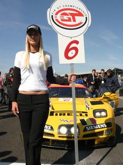 #6 GLPK-Carsport Corvette C5R: Anthony Kumpen, Bert Longin, Mike Hezemans