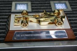 The Steinmetz trophy awarded to the Monaco GP winner
