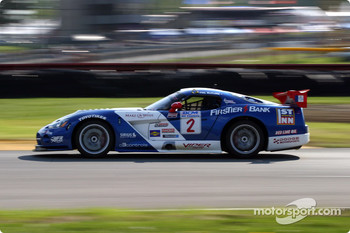 Phil McClure (#2 Chevrolet Corvette ZO6)