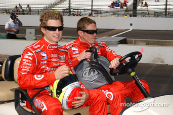 Ryan Briscoe and Scott Dixon