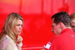 Corina and Michael Schumacher