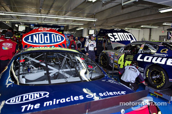 Jeff Gordon and Jimmie Johnson