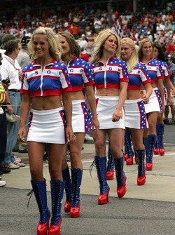 USGP grid girls