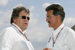 Norbert Haug and Dr Mario Theissen