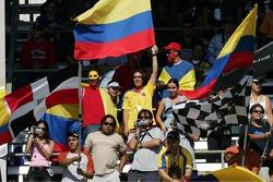Fans of Juan Pablo Montoya