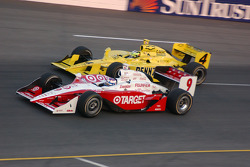 Scott Dixon and Tomas Scheckter
