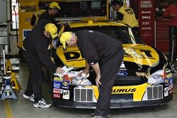 The DeWALT Racing Ford gets a shine