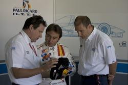 Adrian Campos talks to Bruno Michel