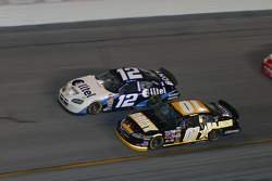 Ryan Newman and Joe Nemechek