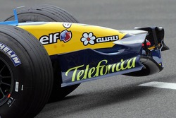 Front nose of the Renault