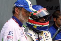 Henri Pescarolo and Jean-Christophe Boullion
