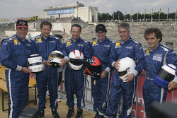 Nigel Mansell, Jody Scheckter, Johnny Cecotto, Emerson Fittipaldi, Mick Doohan and Alain Prost