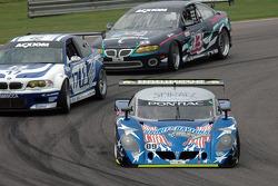 #09 Spirit of Daytona Racing Pontiac Crawford: Doug Goad, Stephan Gregoire, #17 Prototype Technology Group BMW M3: RJ Valentine, Kelly Collins