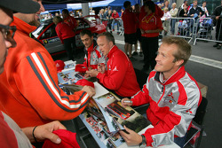 Autograph session: Harri Rovanpera and Risto Pietilainen