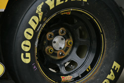 Detail of a wheel