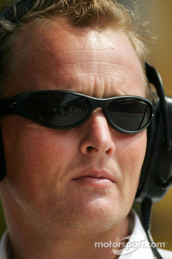 Jordan sporting relations manager Johnny Herbert