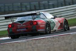 #11 Larbre Competition Ferrari 550 Maranello: Vincent Vosse, Kurt Mollekens, Gabriele Gardel, Christophe Bouchut