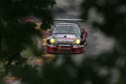 #43 BAM! Porsche 911 GT3 RSR: Wolf Henzler, Mike Rockenfeller