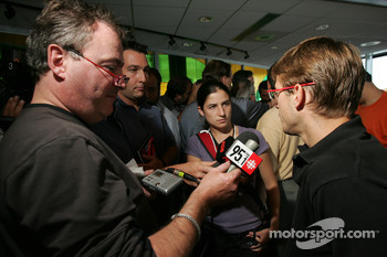 Pre-event press conference: Sébastien Bourdais