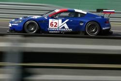 #62 Convers Team Aston Martin DBR9: Darren Turner, Frédéric Dor, Robert Bell