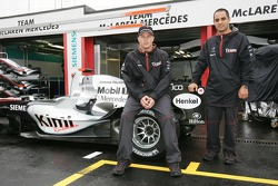 McLaren announces news sponsorship deal with Hilton: Kimi Raikkonen and Juan Pablo Montoya