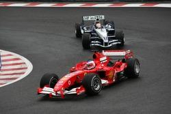 Rubens Barrichello and Antonio Pizzonia