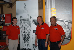 Al Unser III, Al Unser, Jr. and Sr.