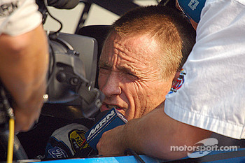 Mark Martin doing an in car interview