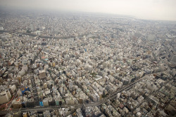 At home in Tokyo with Takuma Sato: aerial view of Tokyo