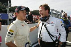 Christian Klien and Christian Horner