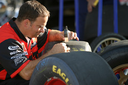 Evernham Motorsports crew member at work