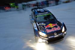 Sebastien Ogier and Julien Ingrassia, Volkswagen Polo WRC, Volkswagen Motorsport