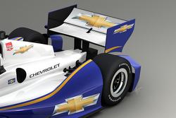 Rendering of the 2014 Chevrolet aero kit