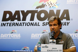 Joie Chitwood III, Daytona International Speedway talks about adding SAFER barriers to the track following Kyle Busch's crash