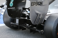 Mercedes AMG F1 W06 rear diffuser detail